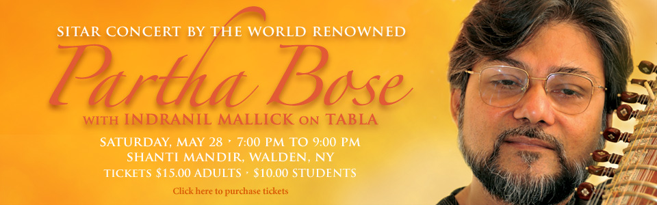 Partha Bose Concert-Web Banner-May 2016