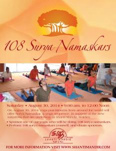 108 Surya Namaskar-2014