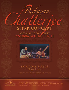 Purbayan Chatterjee Concert Flyer-May 2015