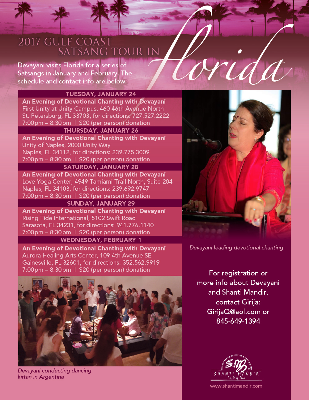 Florida Satsang Tour-Gulf Coast-Flyer-2017